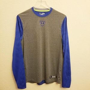 Under Armour Fitted Baseball Performance Shirt